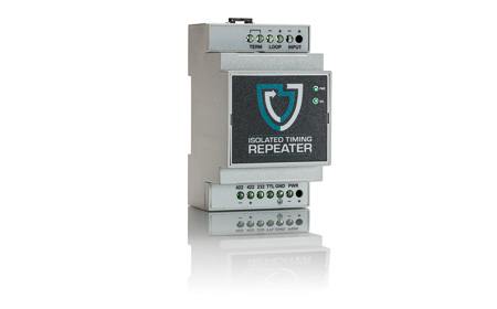 Isolated Timing Repeater ITRD1 front panel white